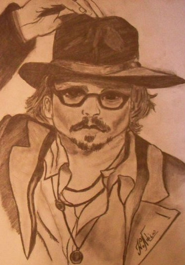 Johnny Depp by ivadell